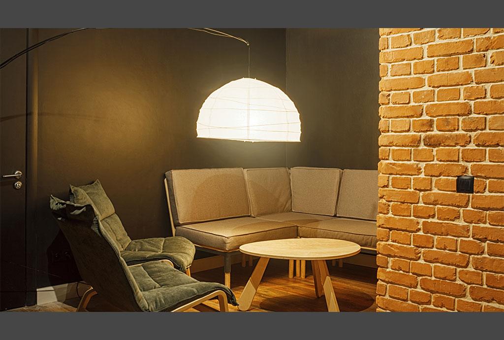 Плитка под кирпич для внутренней отделки стен в интерьере