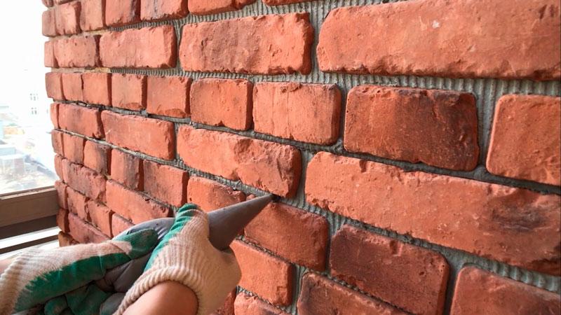 стена под расшивку